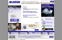 Screenshot of Marsh Electronics homepage