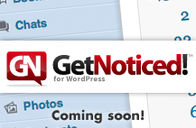 Logo for GetNoticed! Theme for WordPress
