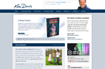 Ken Davis: Website & Blog Redesign
