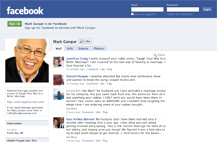 Screenshot of Mark Gungor fan page