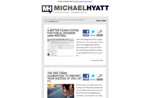 Michael Hyatt: Weekly Email Digest